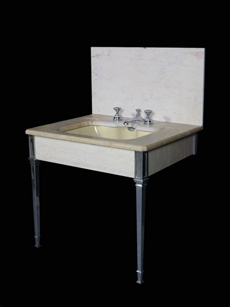 1920s Bathroom Fixtures 1920s Deco Marble Sink Basin For Sale At 1stdibs