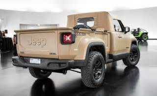 Jeep Comanche Concept Jeep Revives The Comanche As A Renegade Based Trucklet