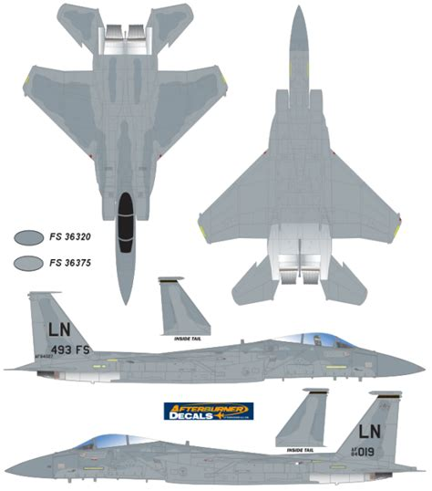 Painting F 15 Model by Mcdonnell Douglas F 15a B C D Eagle Mid Service Color