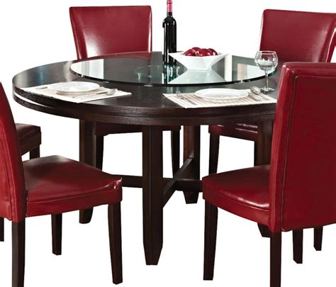 99 72 in round dining room table harding 72 round steve silver hartford 62 inch round dining table in dark