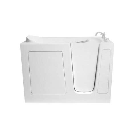 ariel  ft walk   hand bathtub  white ezwt  soaker   home depot