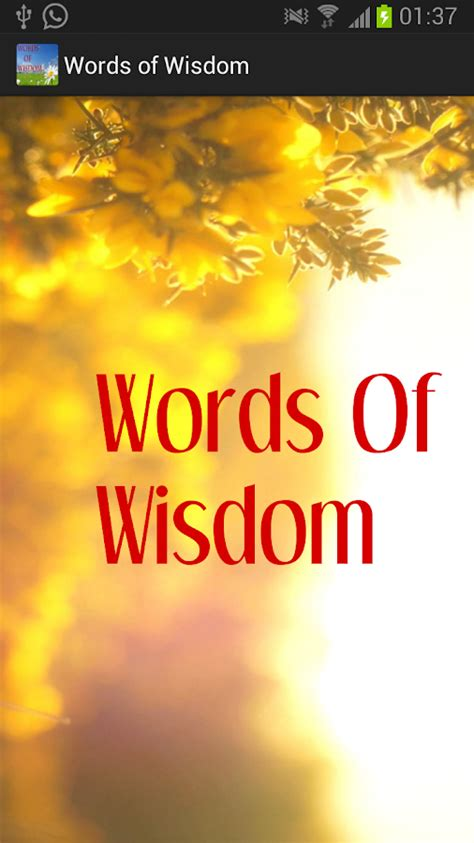 words  wisdom android apps  google play