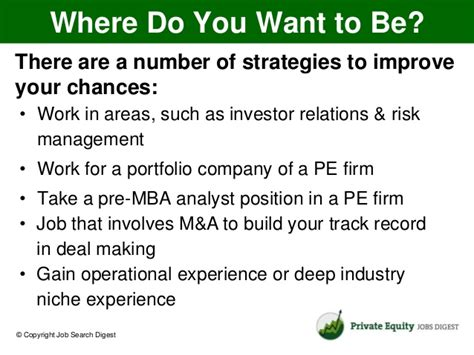 M M Warburg Co Mba Internship by How To Get A Equity