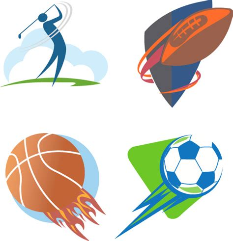 free sports logo templates sport logo vector free vector in adobe illustrator ai