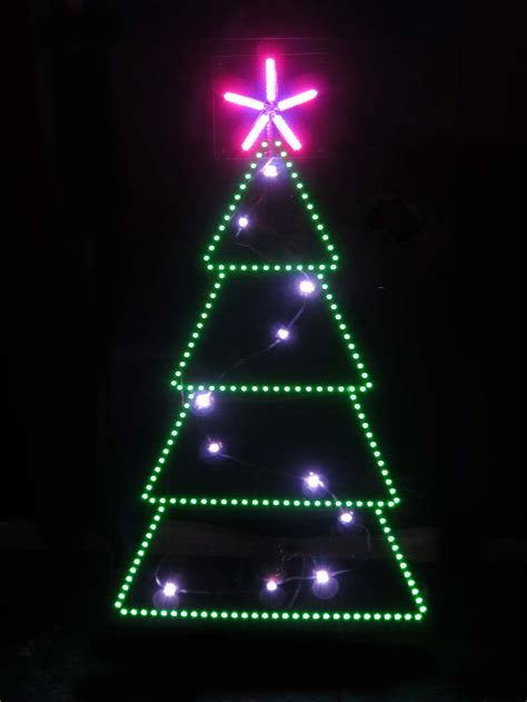 christmas 2015 animated led christmas tree unusual