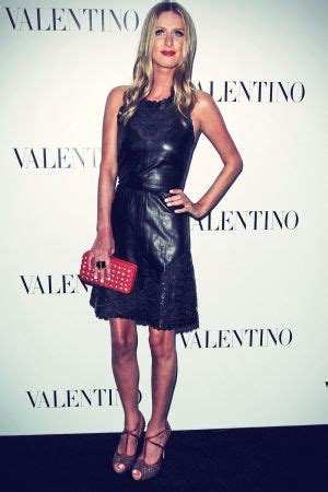 Nicky Attends The Baccarat Boutique Grand Opening by Nicky Leather Dress