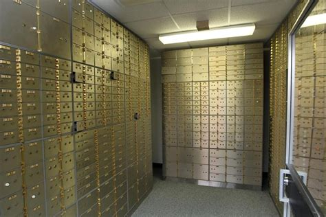Safety Box Bank the disappearing of the safe deposit box the boston globe