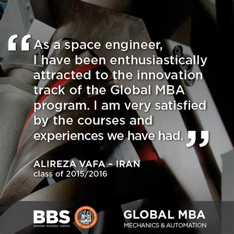 Http Bolognabusinessschool Hp Global Mba Innovation Management by Global Mba Innovation Management Mechanics And Automation