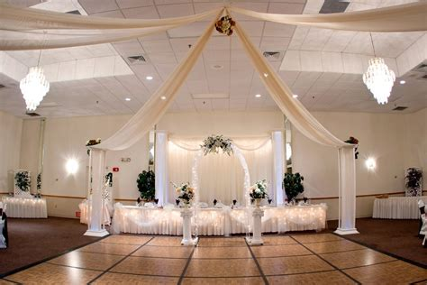 wedding decorations reception hall