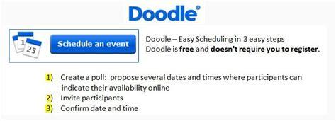 doodle schedule assistant course docs doodle picasa