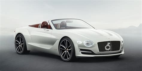 Electric Cars Are Future Bentley Unveils Electric Concept Car Photos
