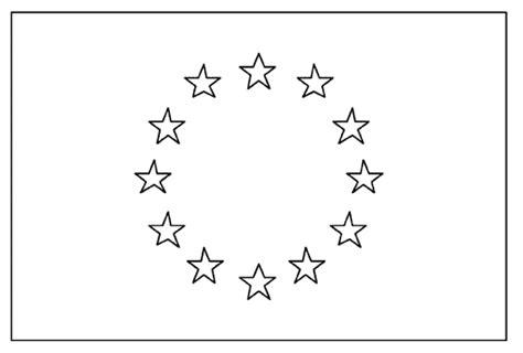 Drapeau Europe Coloriage De Drapeaux Coloriages Pour