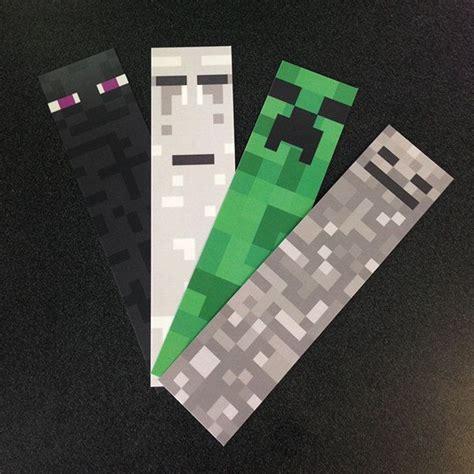 printable bookmarks minecraft 17 best images about minecraft on pinterest birthdays