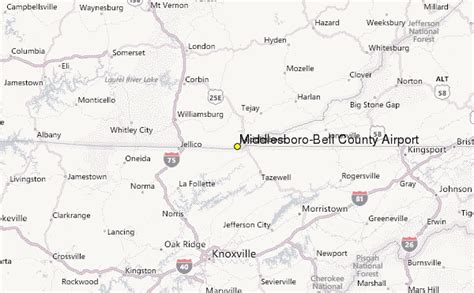 Bell County Records Middlesboro Bell County Airport Ky Weather Station Record Historical Weather For