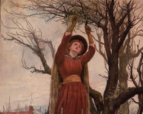 the mistletoe bough by haynes bayly