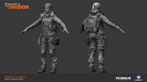 Jaket Hoodie Tom Clancys The Division 2 Roffico Cloth tom clancy s the division characters