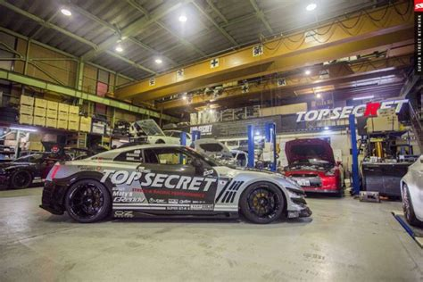 Japan Top top secret japan garage visit