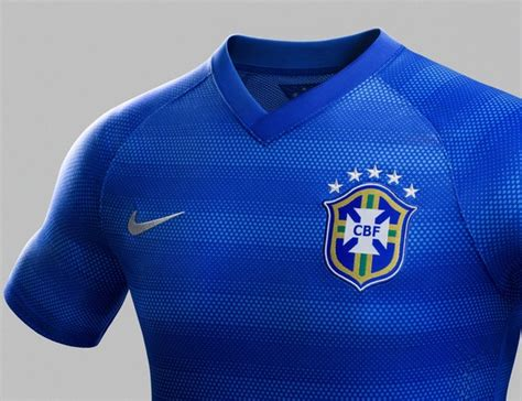 Jersey Brazil Away World Cup 2014 new brazil away world cup jersey 2014 nike blue brasil away kit 2014 15 football kit news