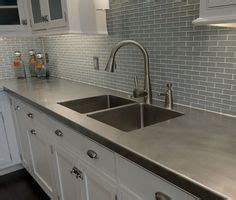kitchen with stainless steel sink fully integrated