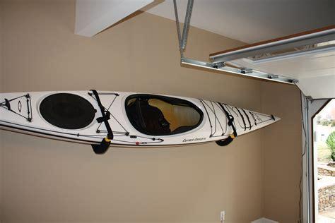Garage Kayak Storage Padded Kayak Wall Rack Adjustable Safety