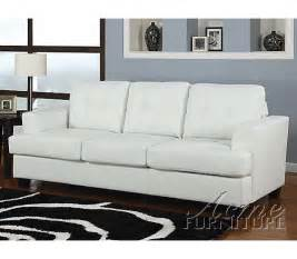 White Sleeper Sofa Beautiful White Leather Sleeper Sofa 2 Home 187