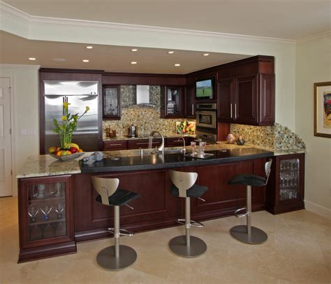 bar ideas for kitchen cool kitchen bar ideas homes building