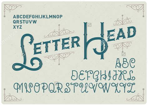 business letterhead font 21 letterhead fonts ttf otf design trends