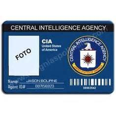 cia id card template id cards templates template fbi badge sep 17
