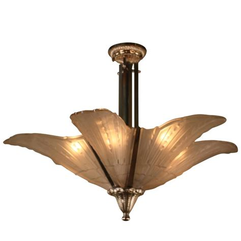 Deco Chandeliers 1920s Deco Chandelier For Sale At 1stdibs