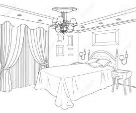 Bedroom Furniture Coloring Pages &187 sketch template