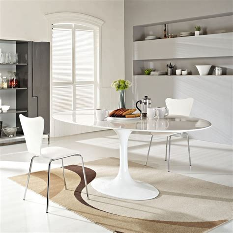 saarinen 78 oval table 78 quot eero saarinen style oval tulip dining table in