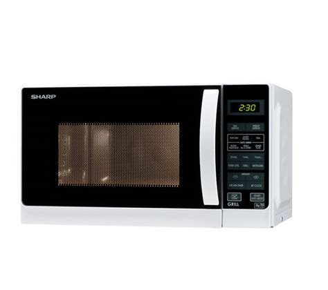 Microwave Grill Sharp buy sharp r662wm microwave with grill white free delivery currys