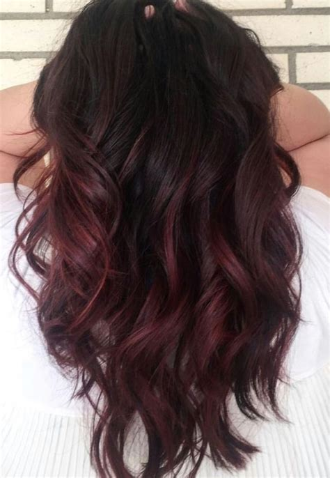 cherry hair color best 25 chocolate cherry hair color ideas on