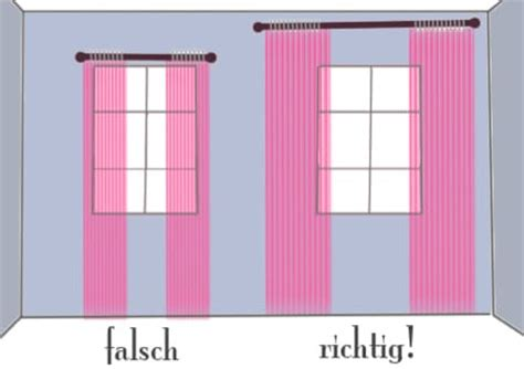 gardinen richtig aufhangen design tipp richtig gardinen aufhaengen haushalt berichte