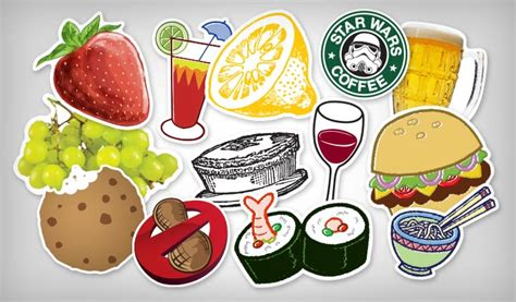 food amp drink stickers stickeryou products