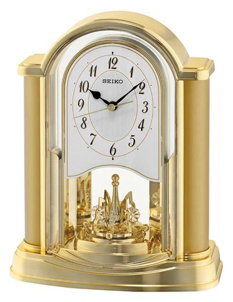 Seiko Desk Clock by Seiko Qxn228g Table Clock Pendulum Clock New Ebay