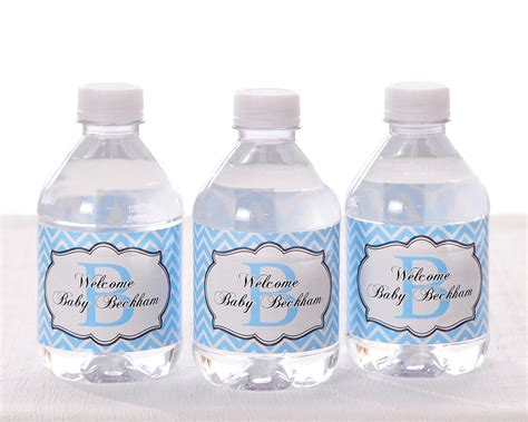 Baby Shower Bottles by 40 Personalized Water Bottle Labels Baby Shower Birthday