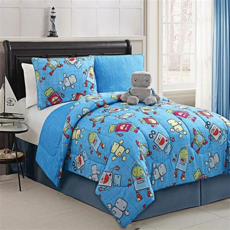 sears canada comforter sets kids robot reversible comforter set with matching plush