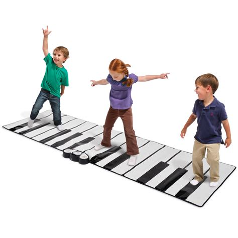 Piano Mat For Children by The World S Largest Toe Tap Piano Hammacher Schlemmer