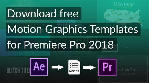 motion graphic template free download gallery templates