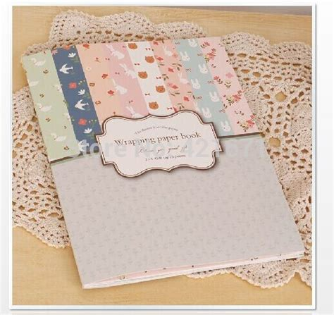 net paper pattern 2015 2015 new exclusive diy gift wrapping book 16sheets set