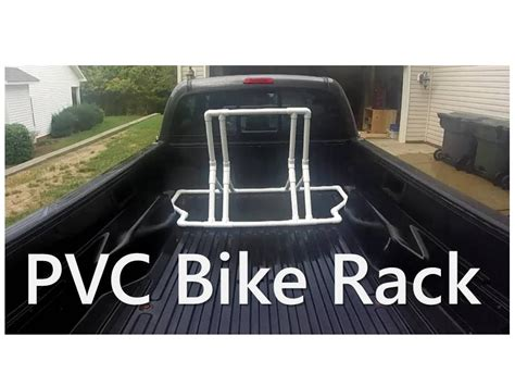 Truck Bed Bike Rack Plans by Pvc Bike Rack Truck Bed Or Stand Alone
