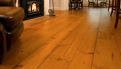 wide plank pine flooring installation and consideration