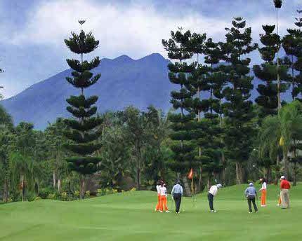 list  golf courses  bogor bogor private  guide