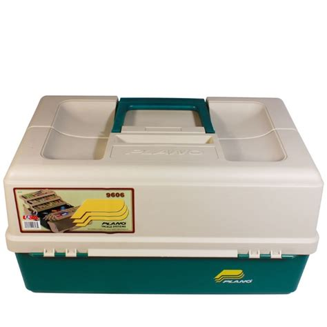 Hip Roof Box Plano 9606 Large Six Tray Hip Roof Tackle Box 6 Tray