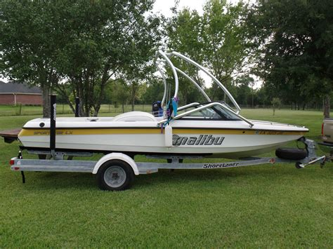 malibu sportster boats for sale malibu sportster lx open bow 2000 for sale for 13 500