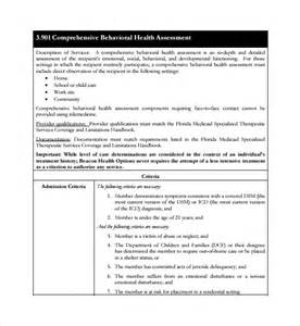 sample health assessment template 5 free documents in