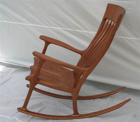Cherry Rocking Chair - handmade cherry rocking chair by wood in motion