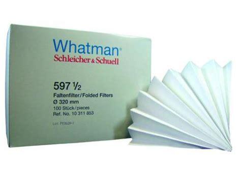 ge whatman qualitative filter paper grade 597 1 2 folded filters labfriend australia