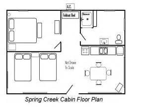 floor plans cabins creek cabin floor plan